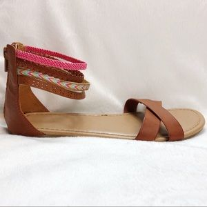 AEO Ankle Strap Detail Sandals